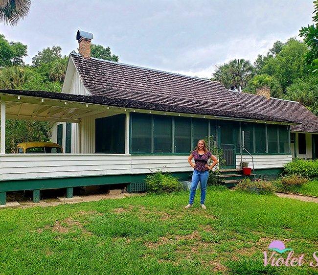 Violet Sky at Marjorie Kinnan Rawlings Historic State Park, Hawthorne, Florida (Photo Credit: Violet Sky)