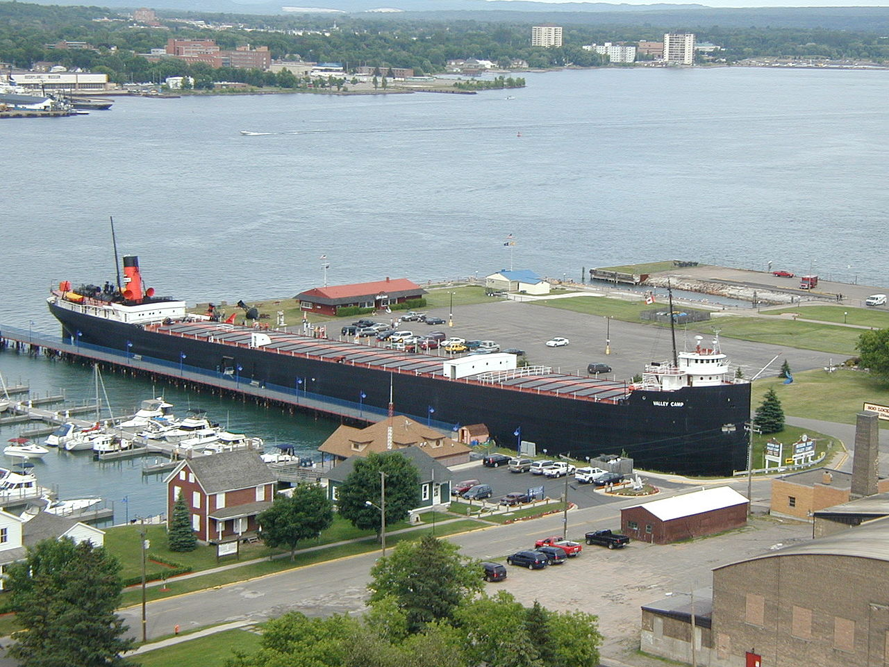 SS Valley Camp, Sault Ste Marie, Michigan (Photo Credit: Wikipedia)