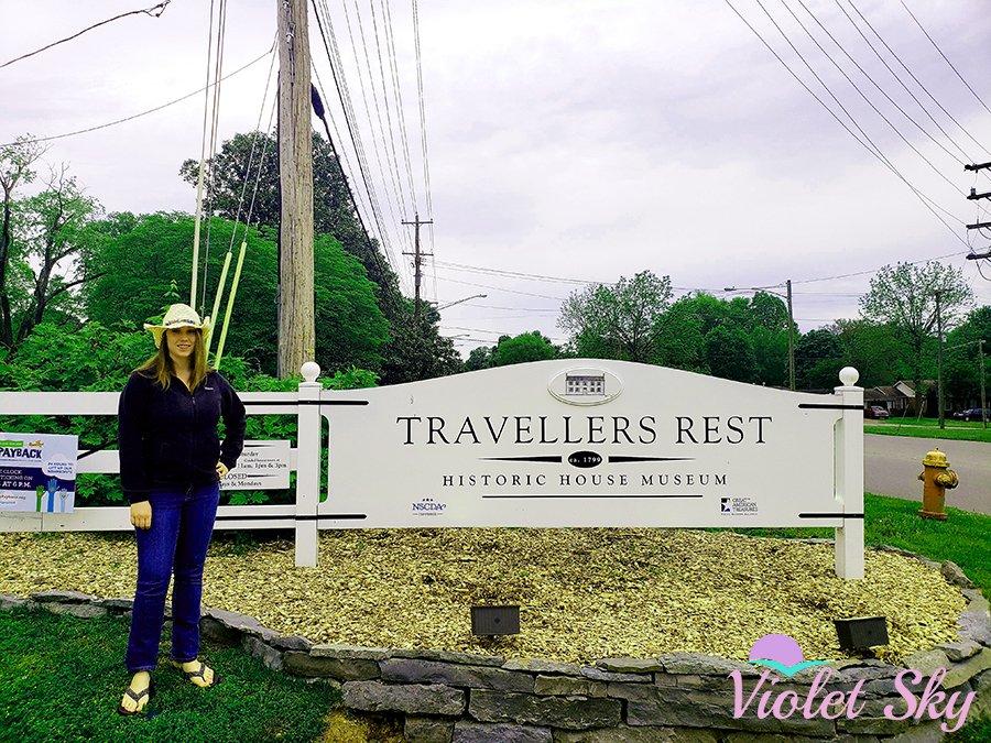 Violet Sky at Historic Travellers Rest, Nashville, Tennessee (Photo Credit: Violet Sky)