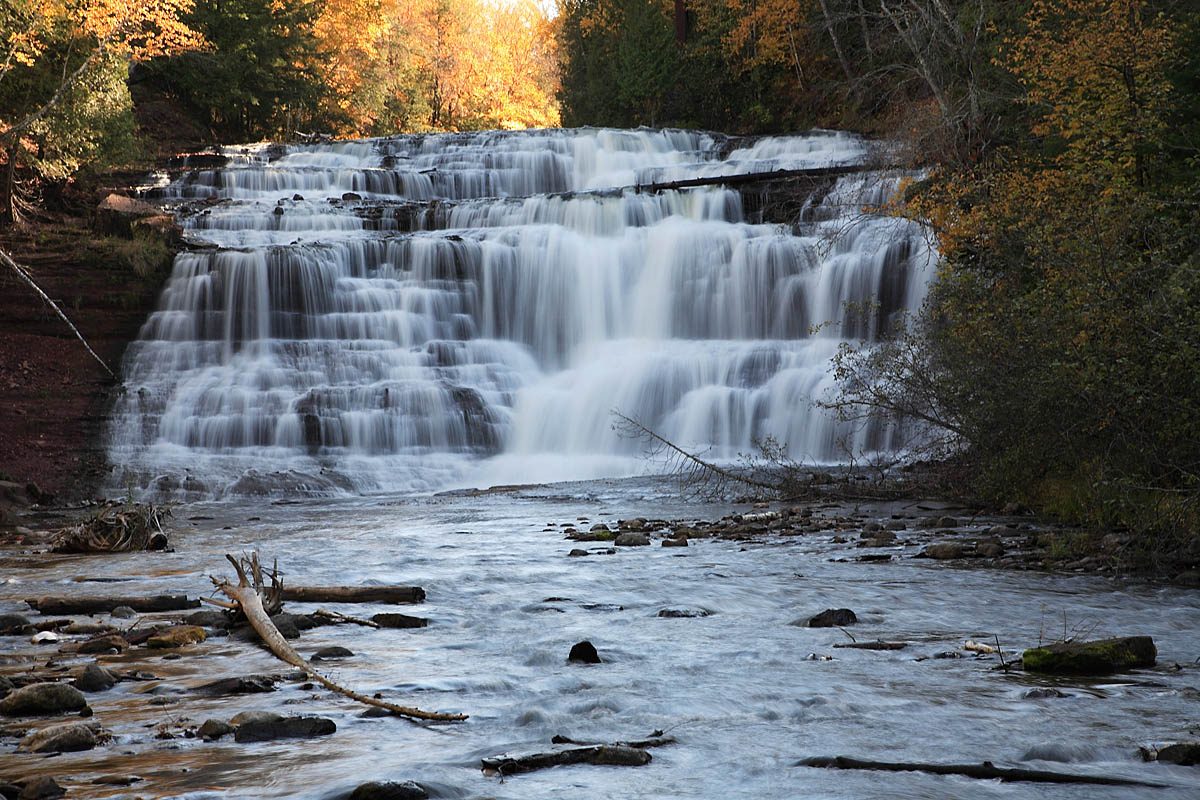 Agate Falls, Michigan (Photo Credit: Wikipedia)