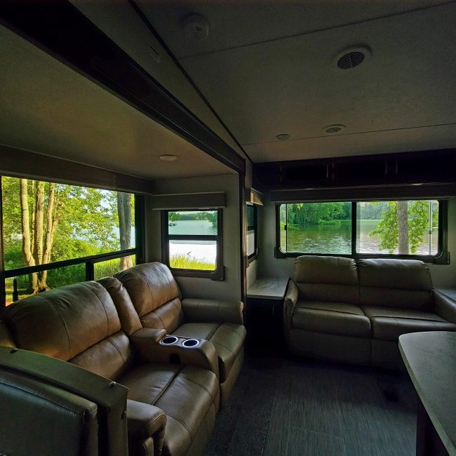 Camping at Wheeler Lake/Decatur KOA (Photo Credit: Violet Sky)