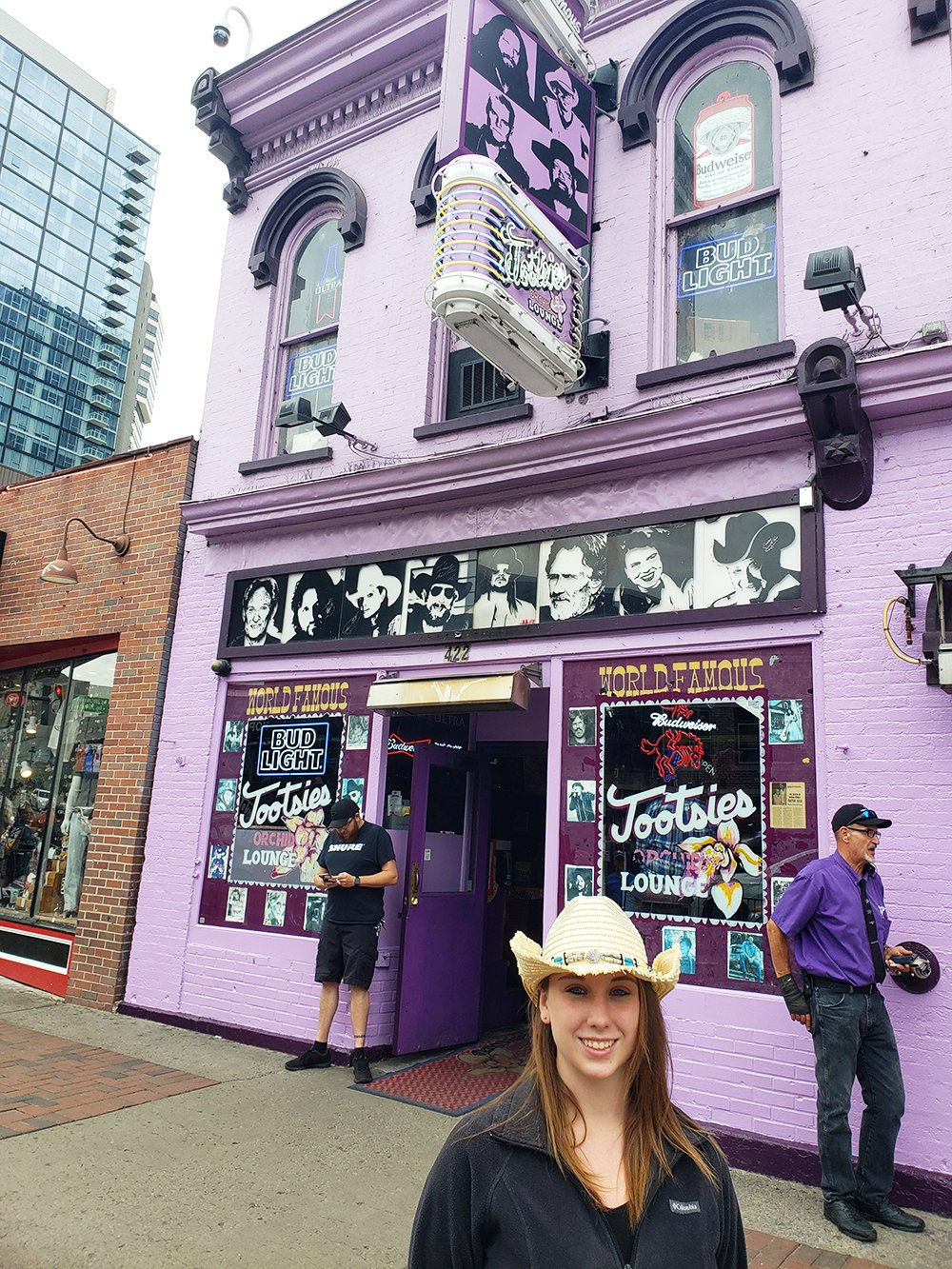 Violet Sky at Tootsies Orchid Lounge, Nashville, Tennessee (Photo Credit: Violet Sky)