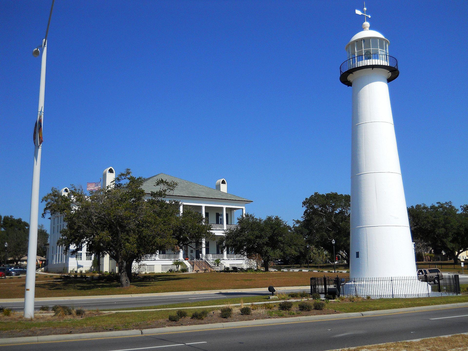 Biloxi Lighthouse, Biloxi, Mississippi (Photo Credit: Wikipedia)