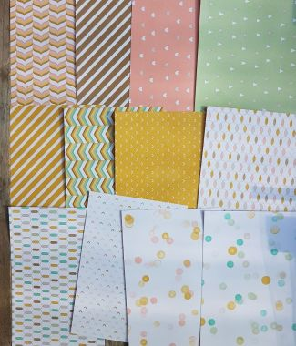 Image result for stampin up lullaby paper
