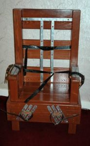 electric chair for violet wands