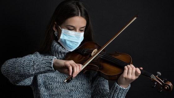 mask violinst