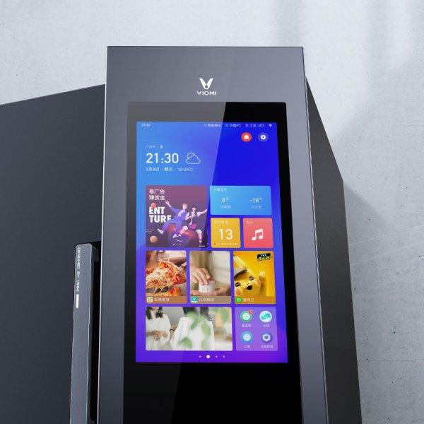 Tủ Lạnh Viomi Internet 428L Màn Hình Cảm Ứng Lớn