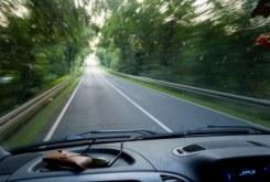 car in highway