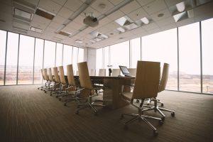 Bureau de VIP Business Immigration a Montreal , salle de reunion