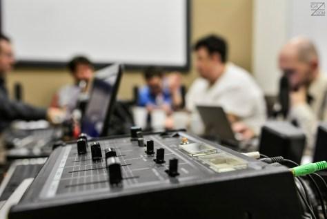 A DTM hangtechnikája. Fotó: Igazi Violett