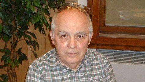 Kovács Győző 2003-ban a Magyar Rádió 5-ös stúdiójában a MODEM IDŐK c. műsor élő adása közben