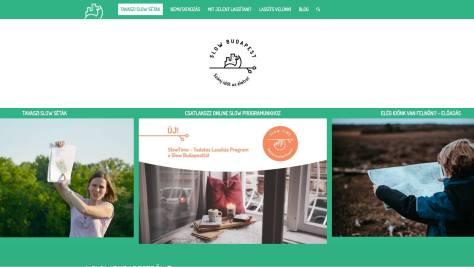 A Slow Budapest weboldala