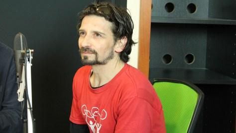 Réz B. Gábor a Tresoritról és a Prevaatról beszél. Fotó: Nemes Ilona