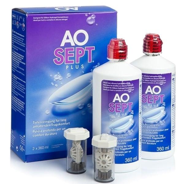 Aosept Plus 2x360 ml