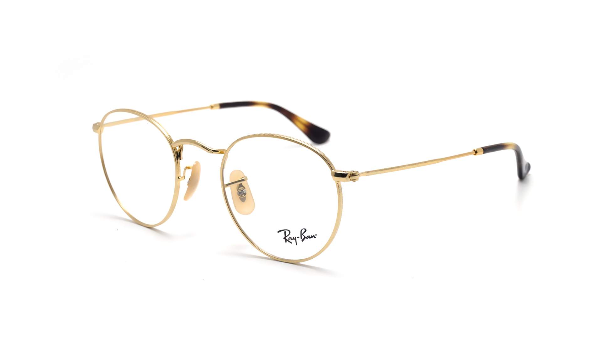 lunette ray-ban-round-metal-optics-or-rx3447-rb3447v-2500-47-21-small