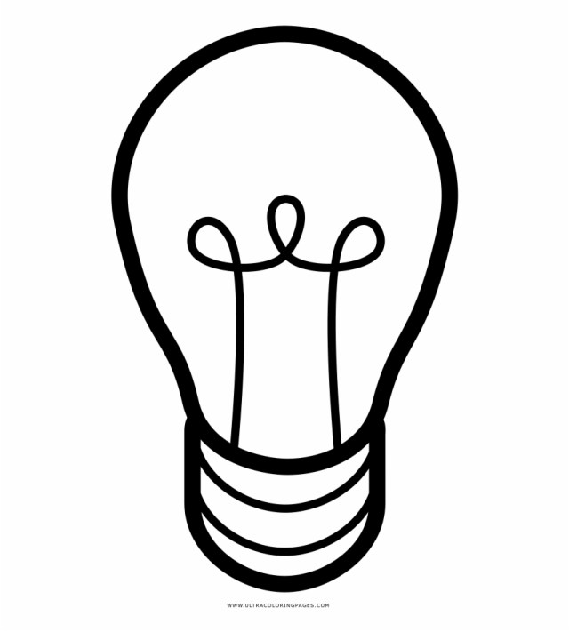 Awesome To Do Light Bulb Coloring Page Ultra Pages - Bombilla De