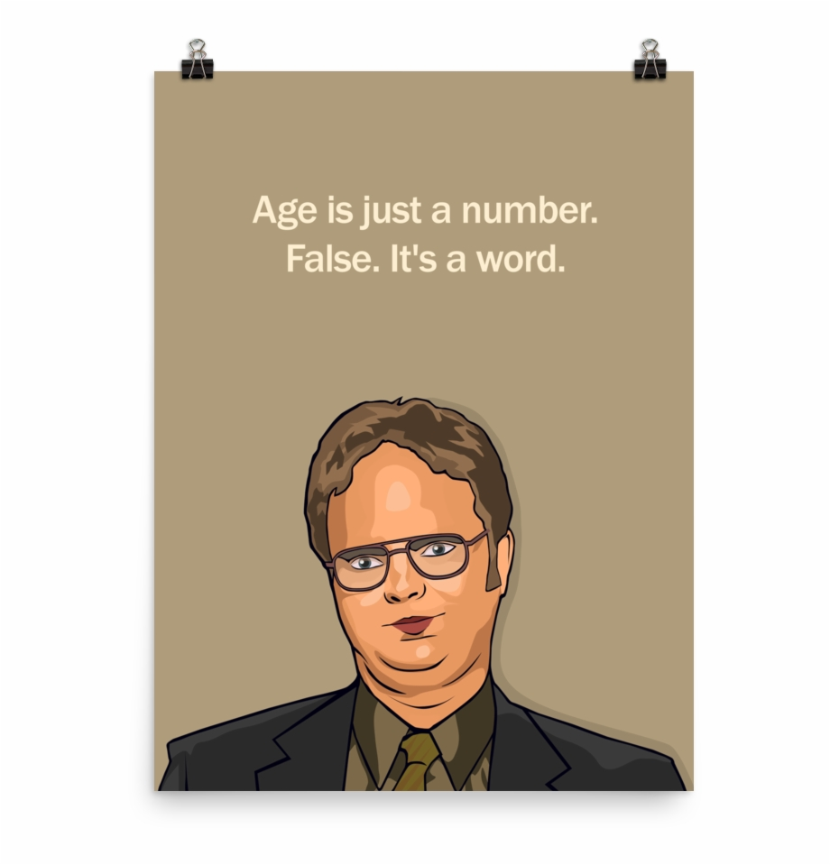 the office tv show print dwight schrute