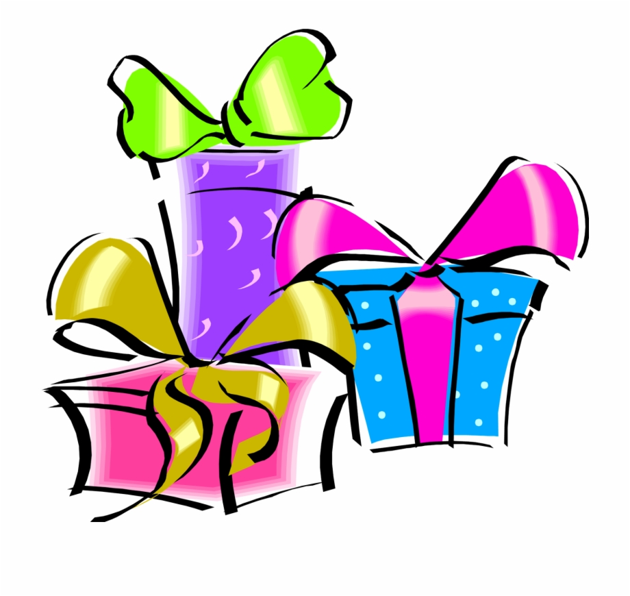 Birthday Gift Png Clip Art Happy Birthday Present Clipart Transparent Png Download 23536 Vippng