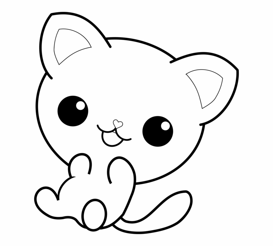Cat Pusheen Coloring Book Kitten Hello Kitty Kawaii Cat Coloring Pages Transparent Png Download 226993 Vippng