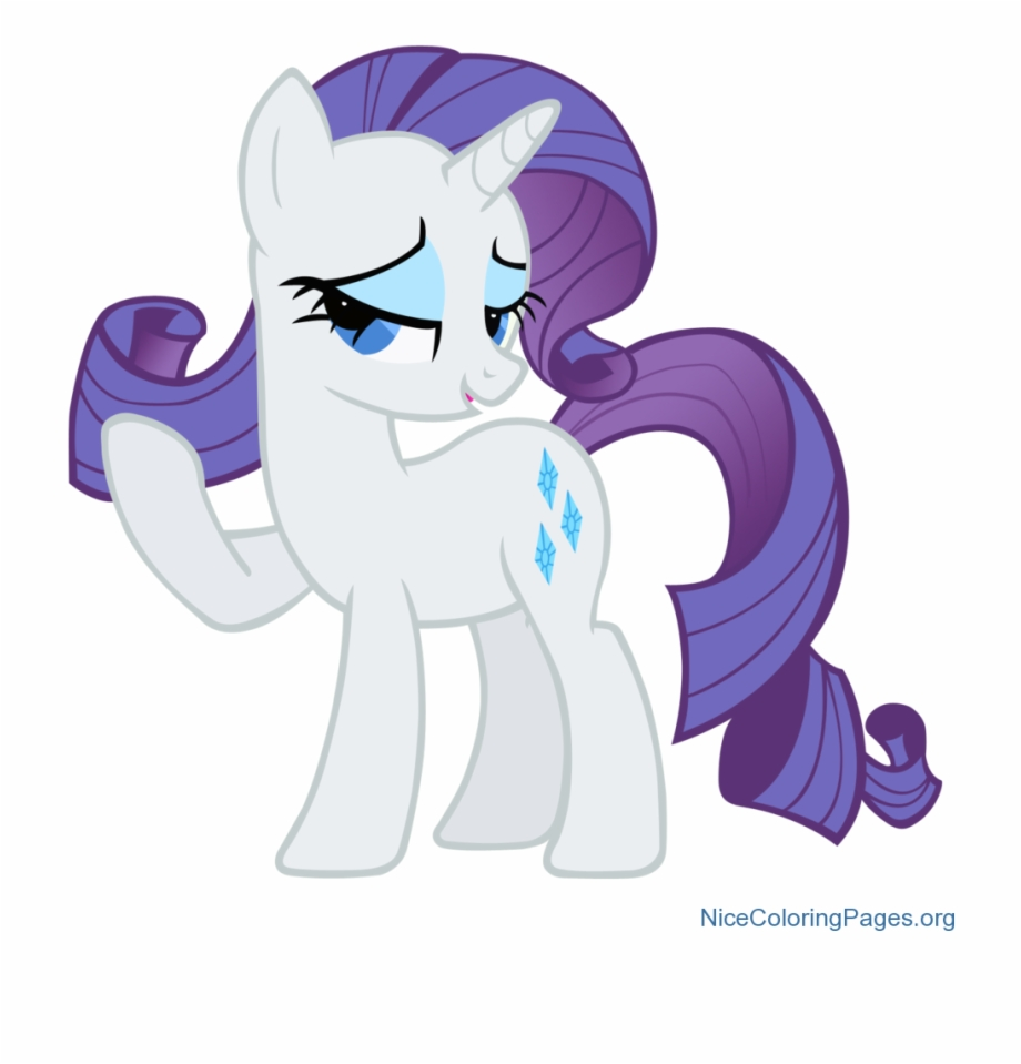 Rarity My Little Pony Transparent Png Download 448409 Vippng