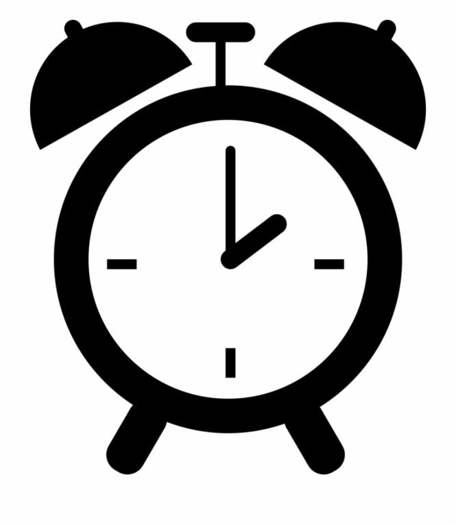 Transpa Background Alarm Clock Clip