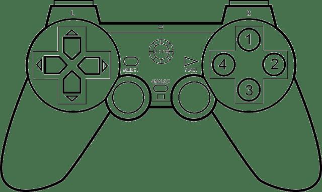 atari controller png - Atari Controller Coloring Pages - Video
