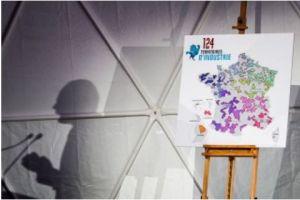Le Premier ministre dévoile la carte des 124 territoires industriels