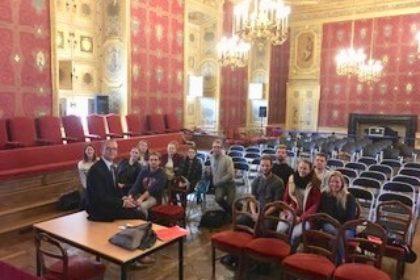 Visite Master 2 Management Avec Frédérique Roux à La Cour Du0027Appel à Rennes