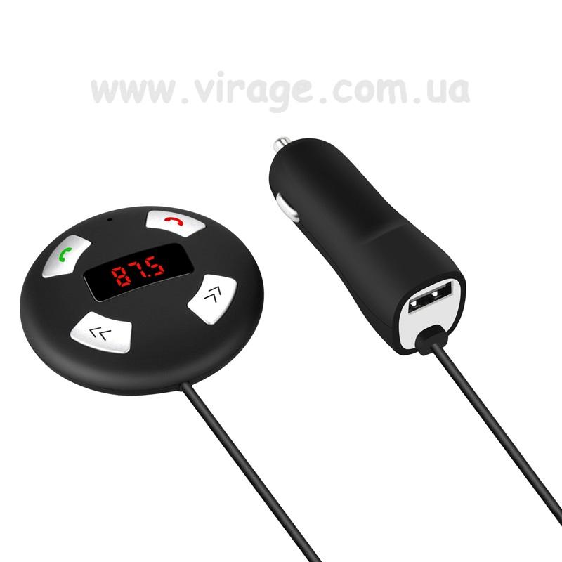 BLS-C1. FM-модулятор з можливістю Bluetooth Hands-free, MP3-програвач з карт пам'яті та пристроїв з підтримкою Bluetooth