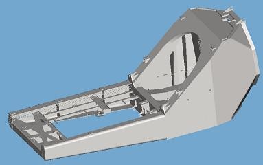 Рама гондоли вітроенергетичної установки WTU2.5