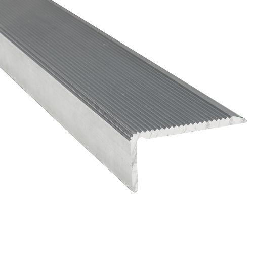 Nez De Marche Antiderapant Strie En Aluminium Virages