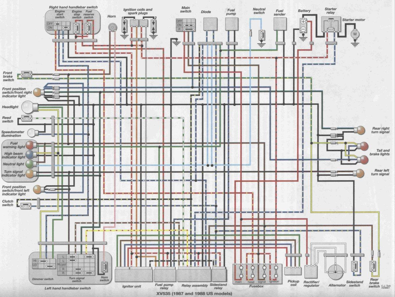 1982 yamaha virago wiring diagram 1982 image 1982 yamaha virago wiring diagram 1982 image wiring diagram