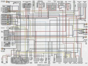 ViragoTechForum • View topic  XV920K Wiring Diagram