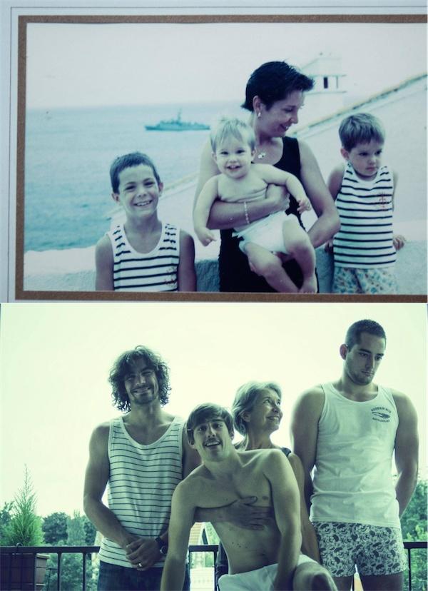 39組超越時空的趣怪家庭照,竟看得人邊笑邊想哭,我真的感動了!