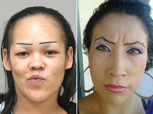 這33位女士的畫眉技巧已超越了人類常識!我們需要重新學習審美標準嗎?