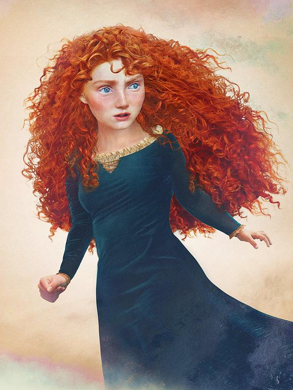 這17位迪士尼公主變成真人,全都超有女人味!誰最吸引你?