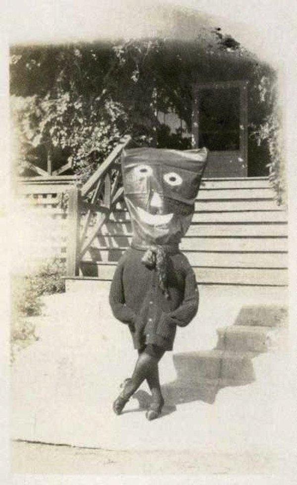 20個昔日超驚慄的嚇人打扮,從前萬聖節竟是這樣恐怖?!