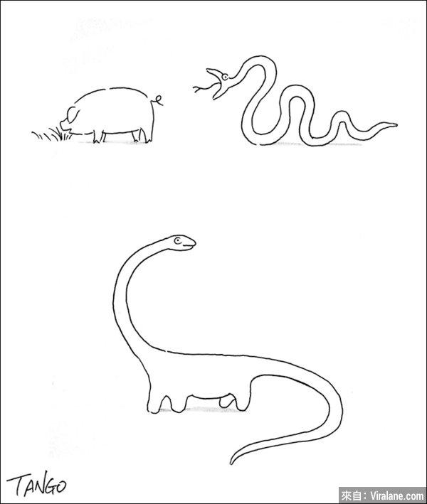 20幅越簡單越見深度和創意的漫畫,看懂後你會哈哈大笑!