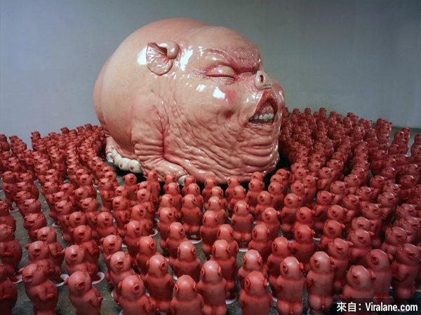 25個全世界最古怪的雕像,全部超出你所能想像!