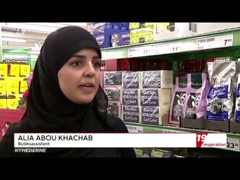 """WHAT?! """"Vil du undgå tyverier i din butik, skal du ansætte muslimske kvinder med tørklæde"""""""