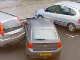 dårlig bilist parkere