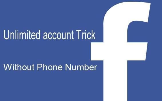 create unlimited facebook accounts