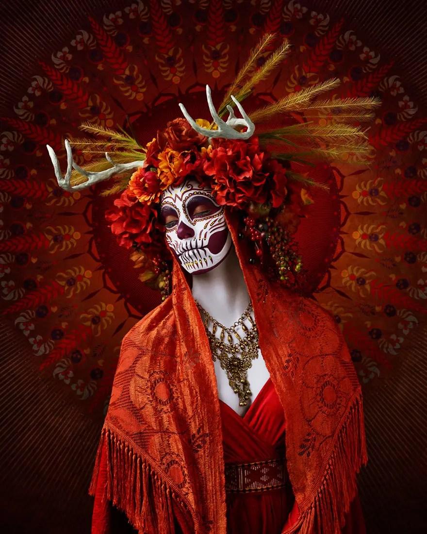 Asombroso Reportaje Basado En La Diosa Azteca De La Muerte Las
