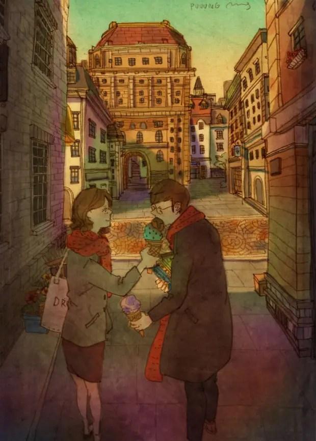 amor-detalles-Puuung-artista-ilustraciones-helado