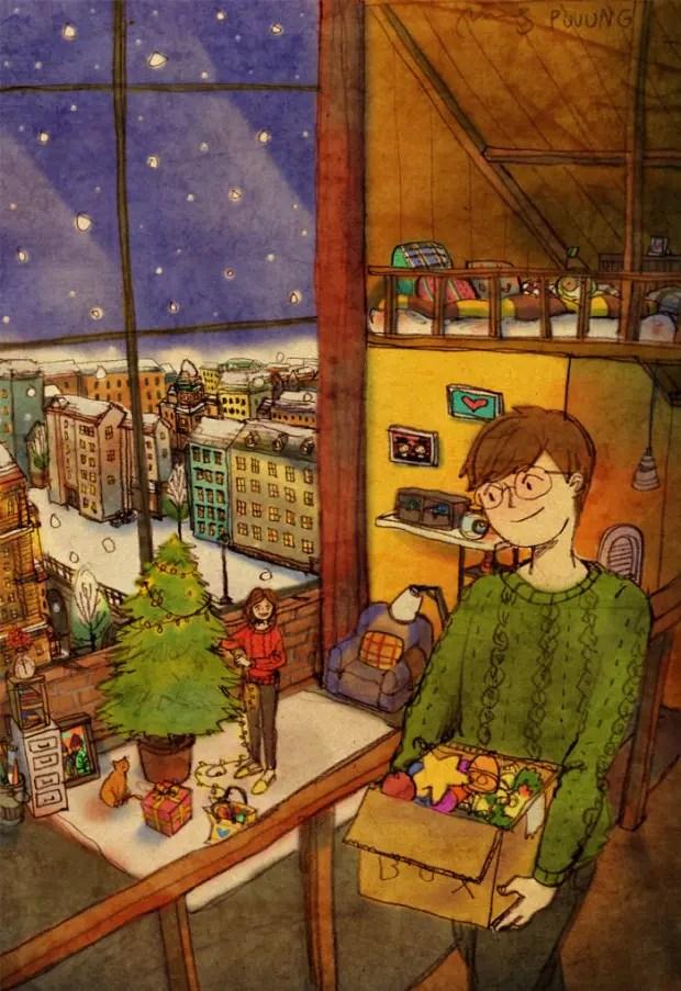 amor-detalles-Puuung-ilustraciones-navidad