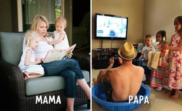 mama-papa-diferencias-divertidas-jugar