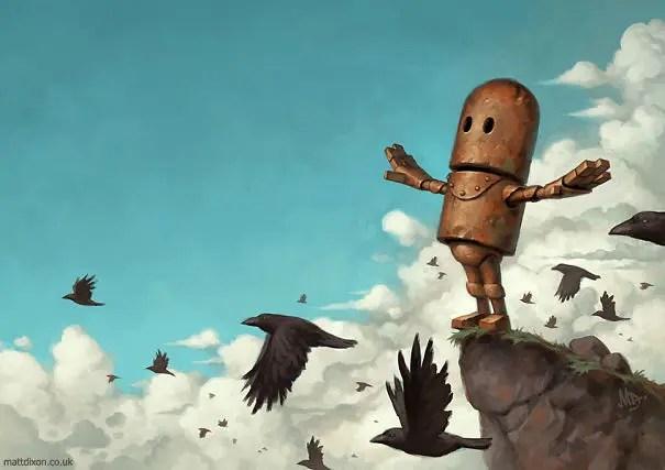 robots solitarios 9