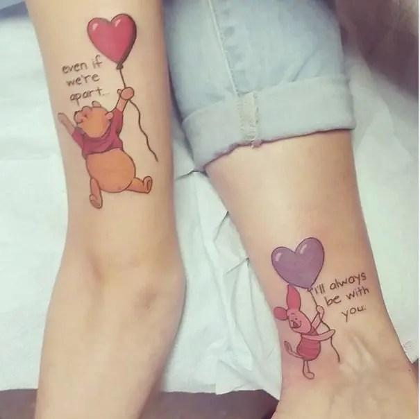 15 Tatuajes Madre E Hija Que Demuestran El Vínculo Inquebrantable