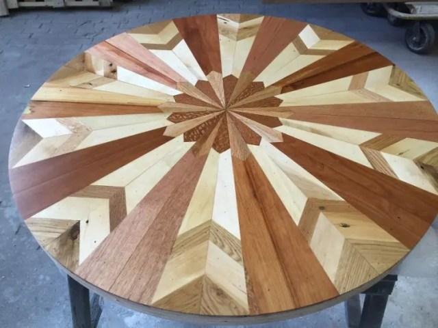 mesas madera reciclada 13
