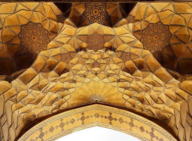 hermosa mezquita en iran 18